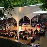 Tanzturnier im Schlosshof
