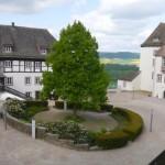 Schloss FÜRSTENBERG – Blick auf den Schlosshof