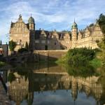 Schloss Hämelschenburg - Blick über den Teich- Blick über den Teich