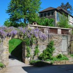 Schloss Hämelschenburg - Blick auf das Gartenhaus