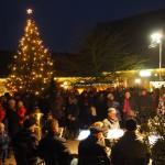 Schloss Hämelschenburg - Weihnachtsmarkt mit Posaunenchor