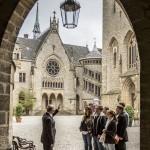 Schlossführung Innenhof [4]