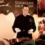 Schokolade - Das Konzert, Dirk Beckstedde kreiert die süßen Verführungen, Bildrecht ©Christina Rommel