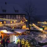 Weihnachtsmarkt Schloss FÜRSTENBERG