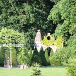 Ananaspavillon Neogothisches Tor